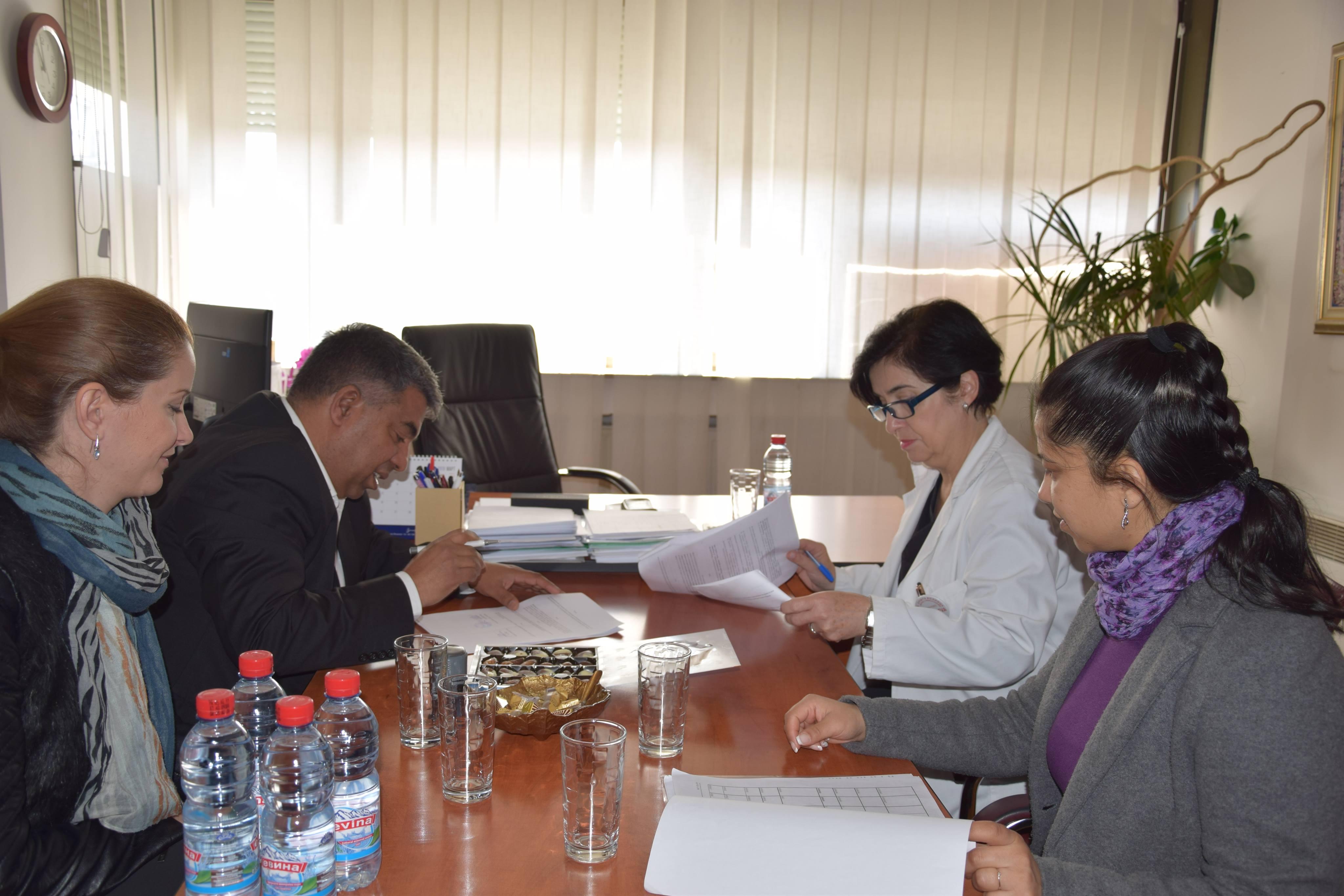 Меморандум за соработка помеѓу ЗНРЦ и општа болница Куманово